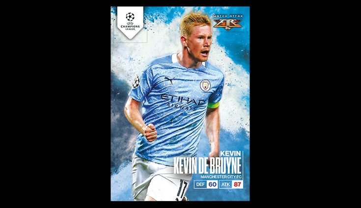Match Attax - Fire Finale Close out the season in style - order 5 packs from each of this season's awesome Match Attax collections and recieve a free Match Attax Fire card of Kevin De Bruyne. Includes - 5 Match Attax 2020/21 packs, 5 Match Attax Extra 2021 packs, 5 Match Attax 101 packs + Free KDB Fire card! Kevin De Bruyne